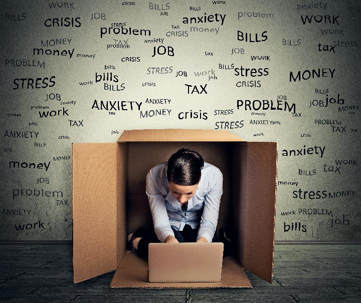 A pénzügyi tétlenség és szorongások